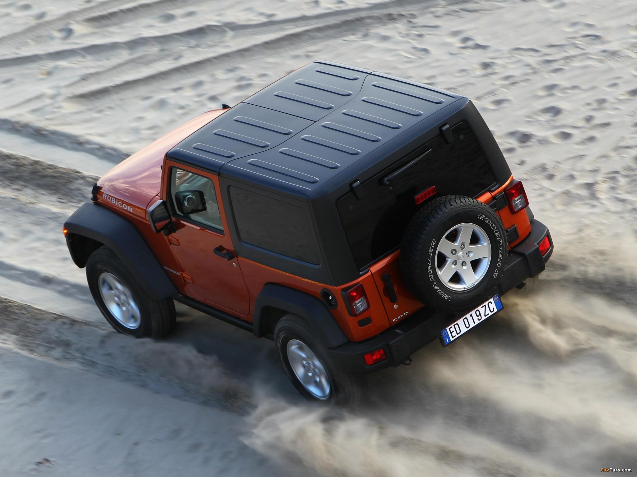 Images of Jeep Wrangler Rubicon EU-spec (JK) 2011 (2048 x 1536)