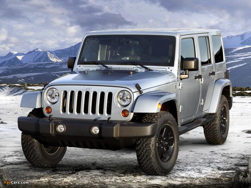 Images of Jeep Wrangler Unlimited Arctic (JK) 2012 (1024 x 768)