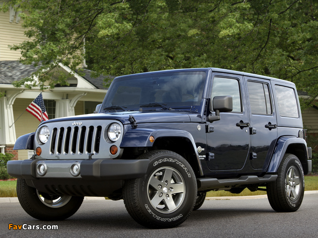 Images of Jeep Wrangler Unlimited Freedom (JK) 2012 (640 x 480)