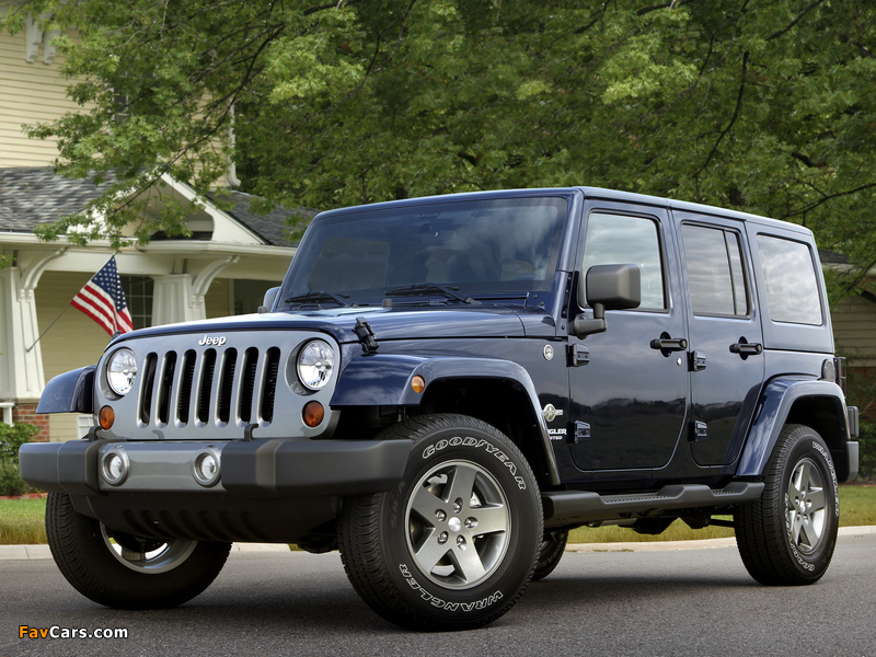 Images of Jeep Wrangler Unlimited Freedom (JK) 2012 (800 x 600)