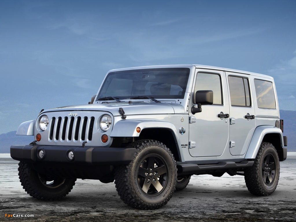 Images of Jeep Wrangler Unlimited Arctic (JK) 2012 (1024 x 768)