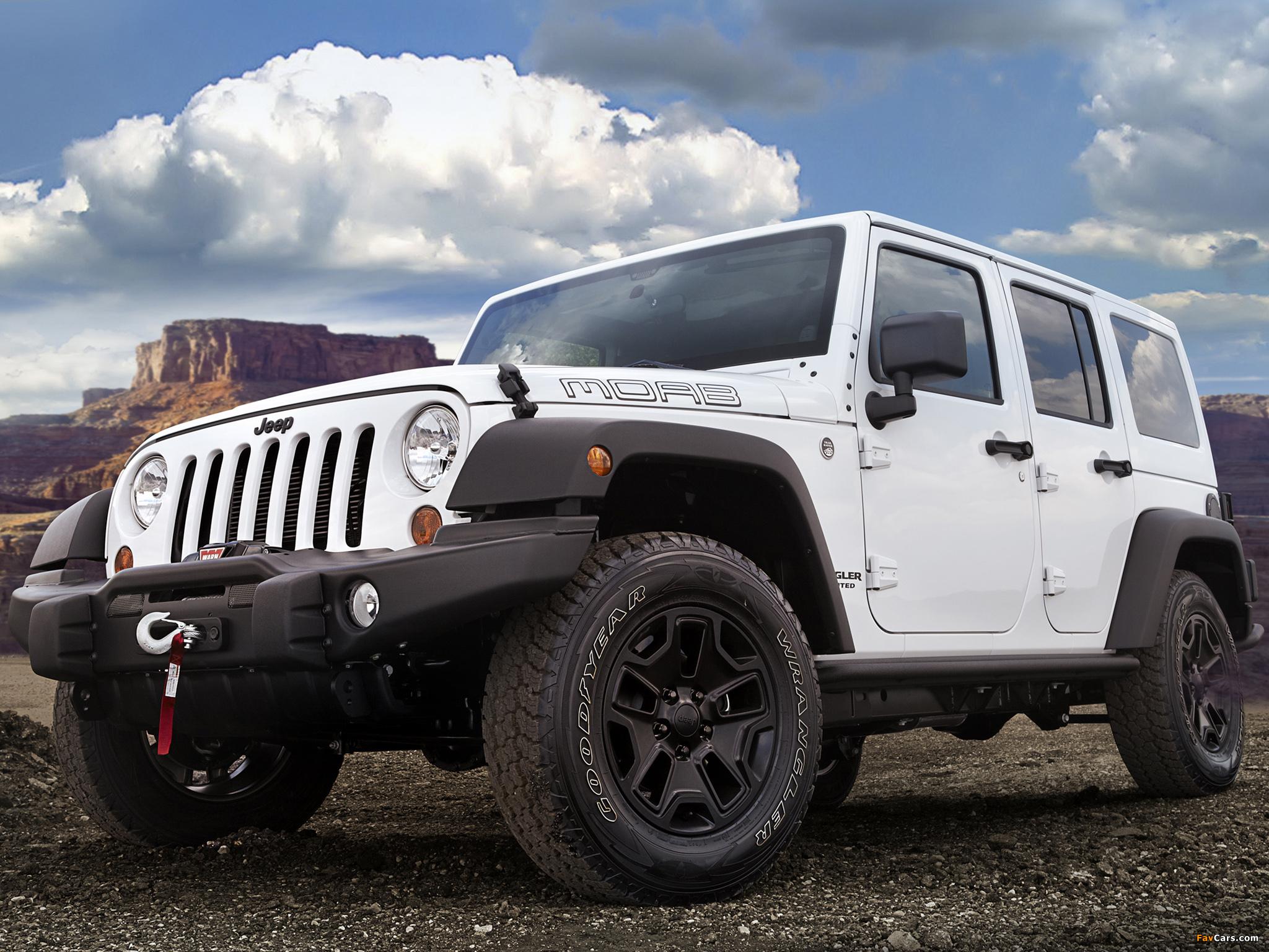 Images of Jeep Wrangler Unlimited Moab (JK) 2012 (2048 x 1536)