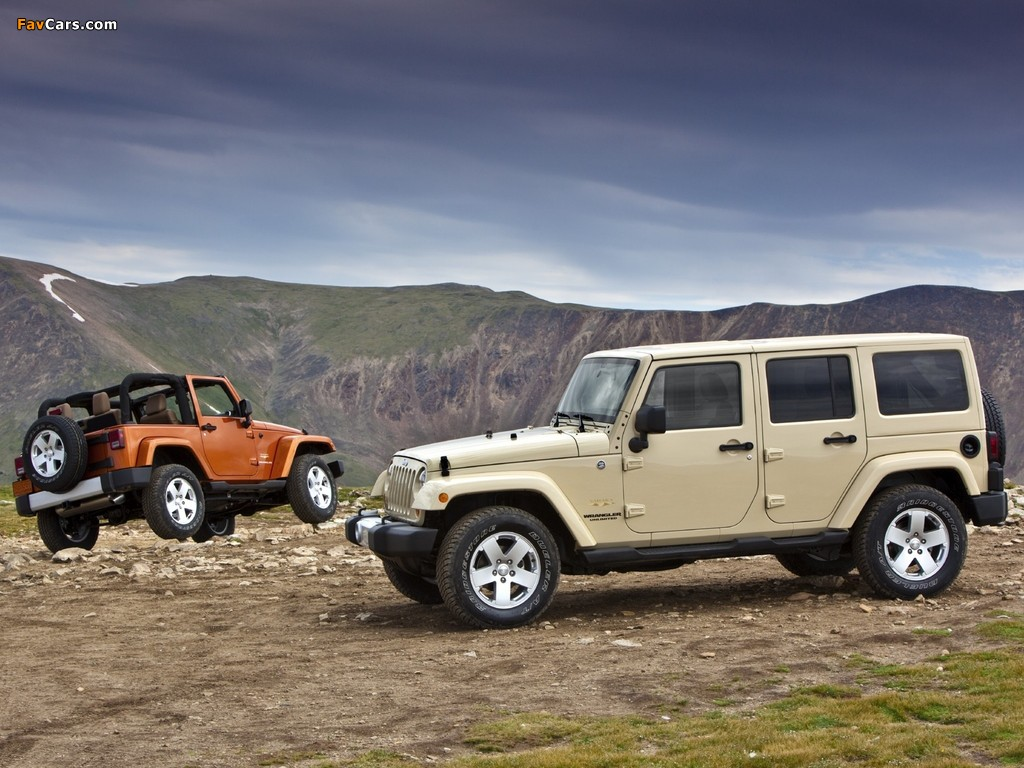 Images of Jeep Wrangler (1024 x 768)