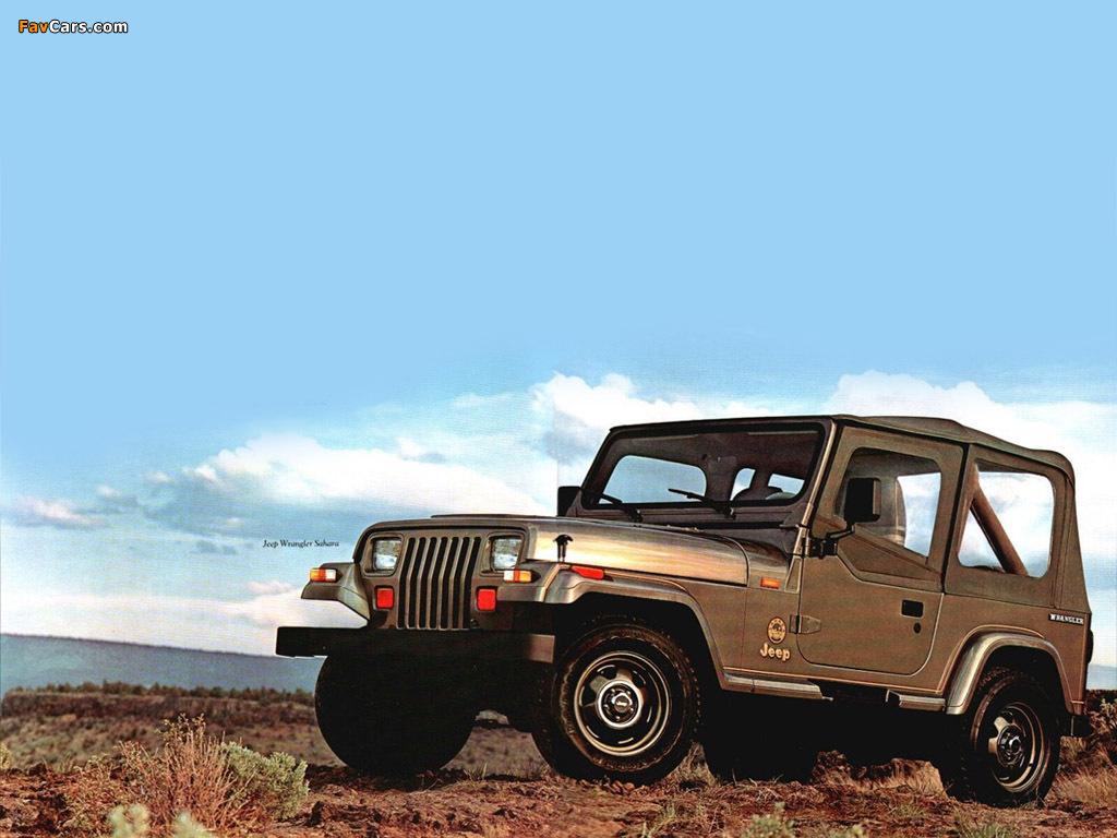 Jeep Wrangler (YJ) 1987–95 photos (1024 x 768)