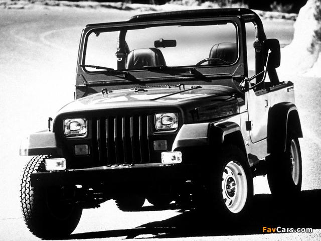 Jeep Wrangler (YJ) 1987–95 photos (640 x 480)