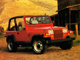 Jeep Wrangler (YJ) 1987–95 photos