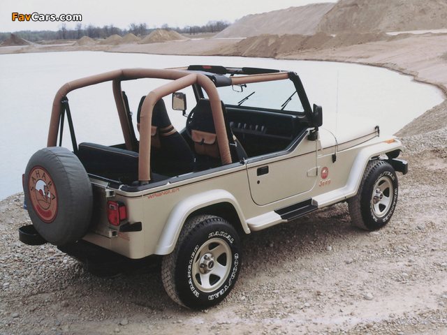 Jeep Wrangler Sahara (YJ) 1992 photos (640 x 480)