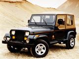 Jeep Wrangler Sahara (YJ) 1995–96 images