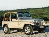 Jeep Wrangler Sahara (YJ) 1995–96 photos