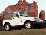 Jeep Wrangler Sahara (TJ) 1996–2002 images
