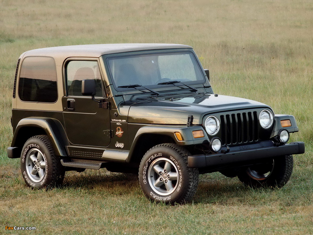 Jeep Wrangler Sahara (TJ) 1996–2002 wallpapers (1024 x 768)