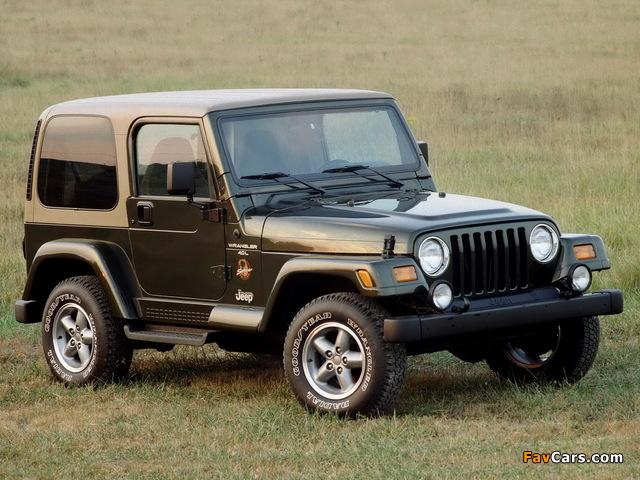 Jeep Wrangler Sahara (TJ) 1996–2002 wallpapers (640 x 480)