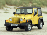 Jeep Wrangler Sport UK-spec (TJ) 1997–2006 images