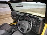 Jeep Wrangler Sport UK-spec (TJ) 1997–2006 pictures