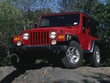 Jeep Wrangler Rubicon (TJ) 2002–06 photos