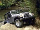 Jeep Wrangler Rubicon (TJ) 2002–06 pictures