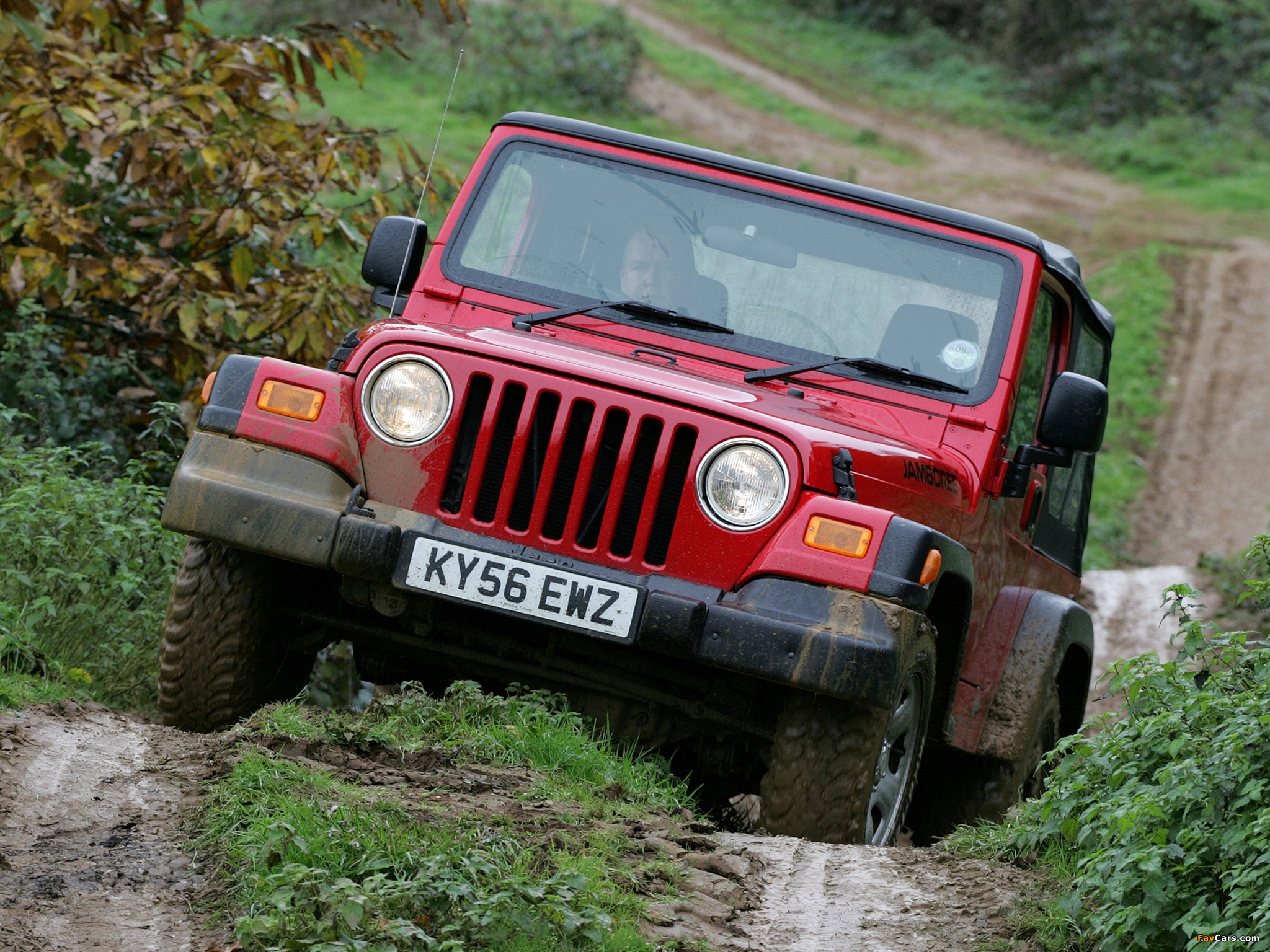 Jeep Wrangler Jamboree (TJ) 2005–06 images (2048 x 1536)