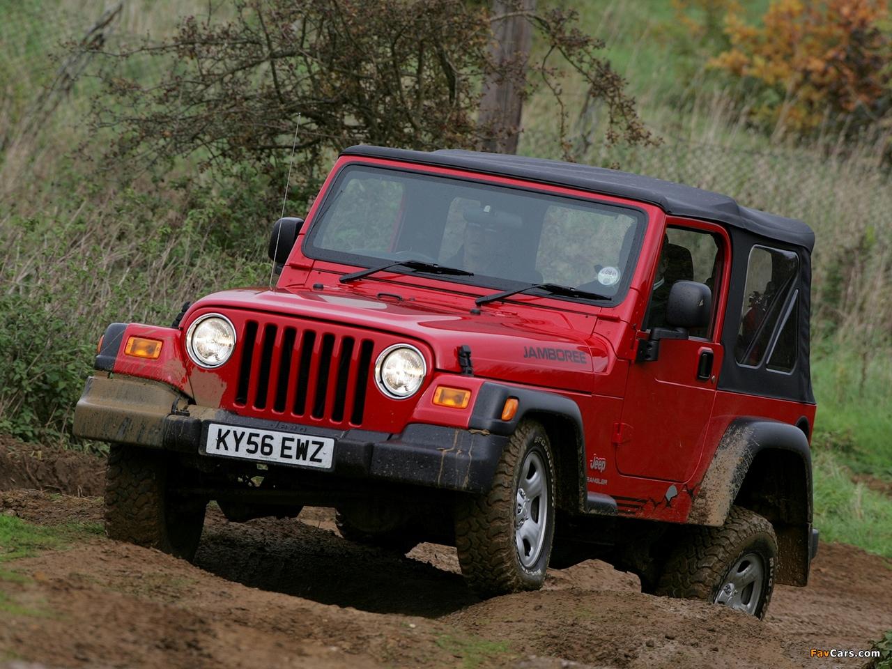 Jeep Wrangler Jamboree (TJ) 2005–06 images (1280 x 960)