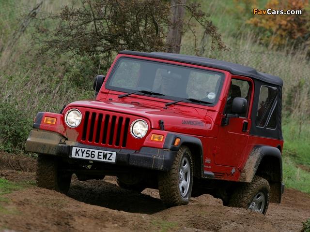 Jeep Wrangler Jamboree (TJ) 2005–06 images (640 x 480)
