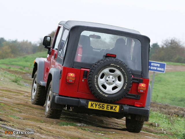 Jeep Wrangler Jamboree (TJ) 2005–06 pictures (640 x 480)