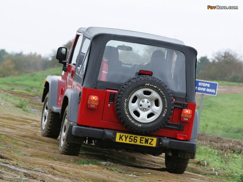 Jeep Wrangler Jamboree (TJ) 2005–06 pictures (800 x 600)