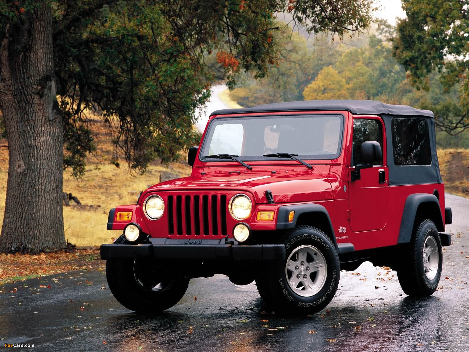 Jeep Wrangler Unlimited (TJ) 2005–06 wallpapers (1600 x 1200)