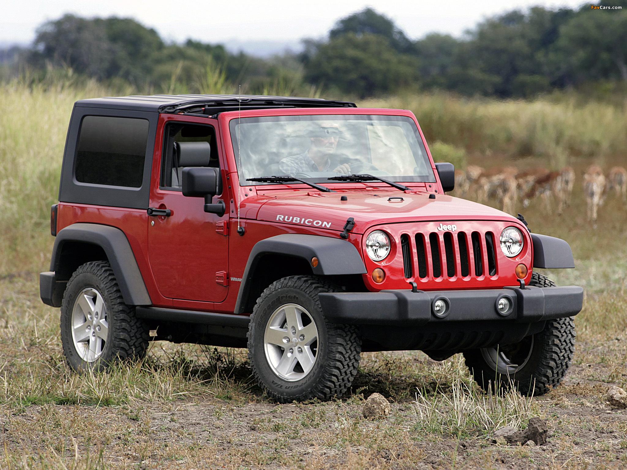 Jeep Wrangler Rubicon (JK) 2006–10 images (2048 x 1536)
