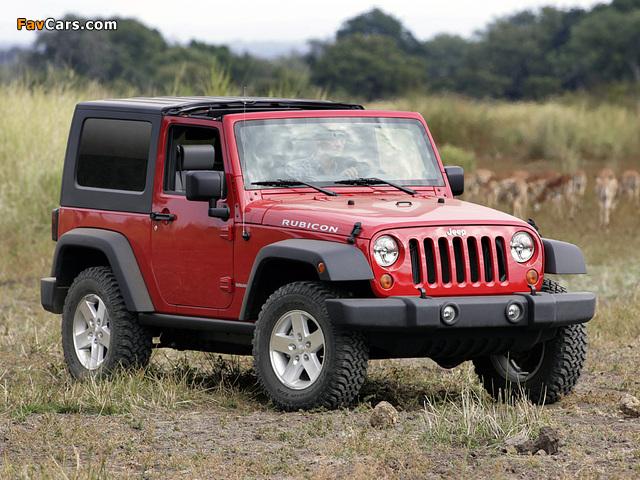 Jeep Wrangler Rubicon (JK) 2006–10 images (640 x 480)
