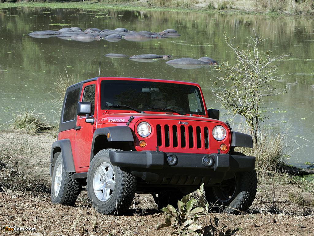Jeep Wrangler Rubicon (JK) 2006–10 images (1024 x 768)