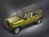 Jeep Wrangler Unlimited Sahara (JK) 2006–10 photos