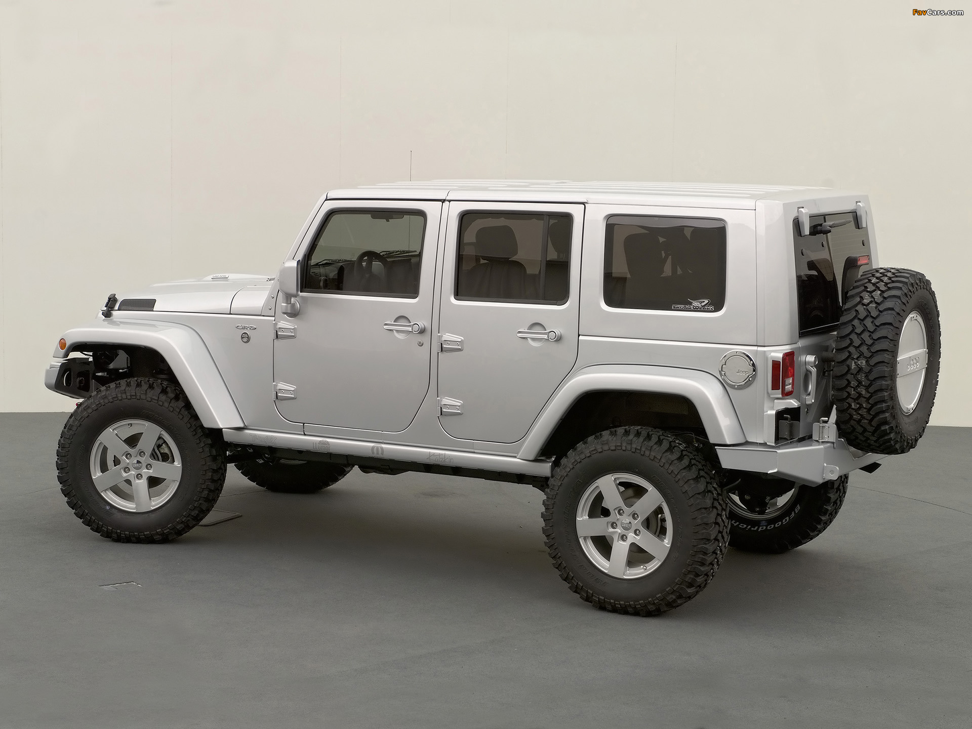Jeep Wrangler Unlimited Rubicon Concept (JK) 2006 wallpapers (1920 x 1440)