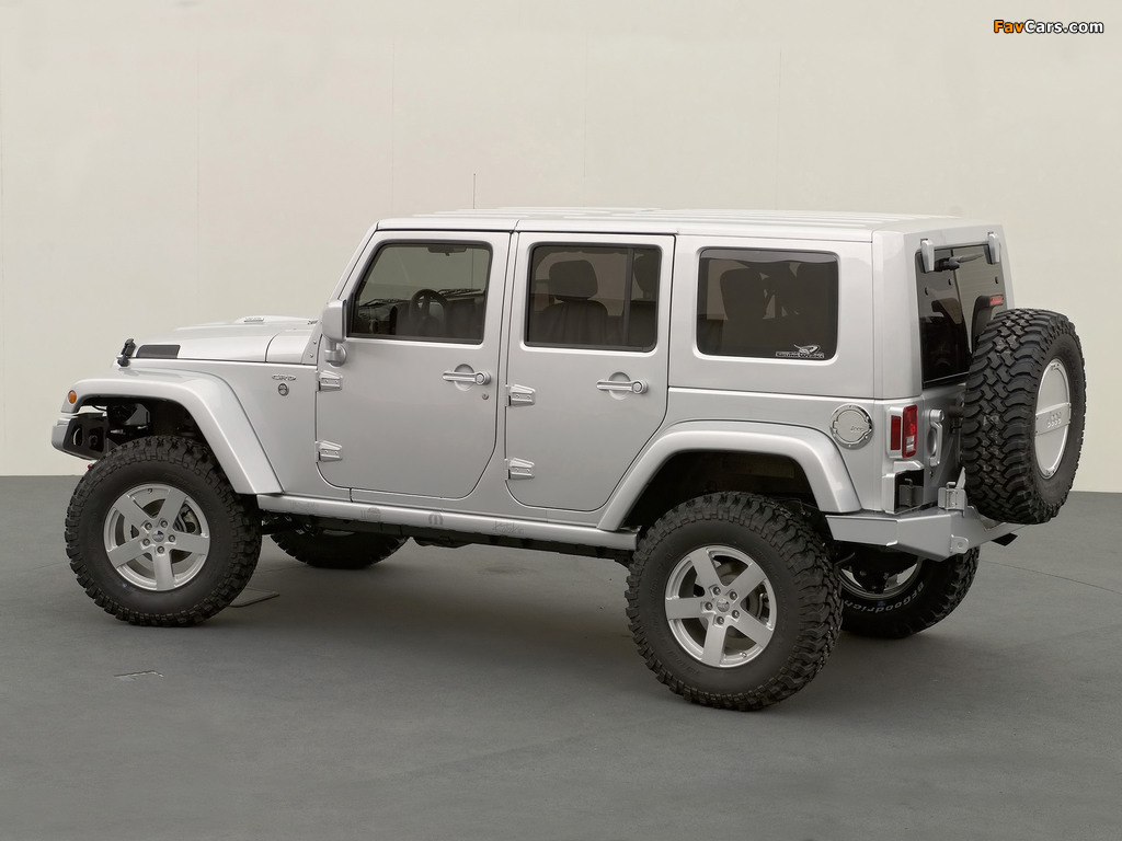 Jeep Wrangler Unlimited Rubicon Concept (JK) 2006 wallpapers (1024 x 768)
