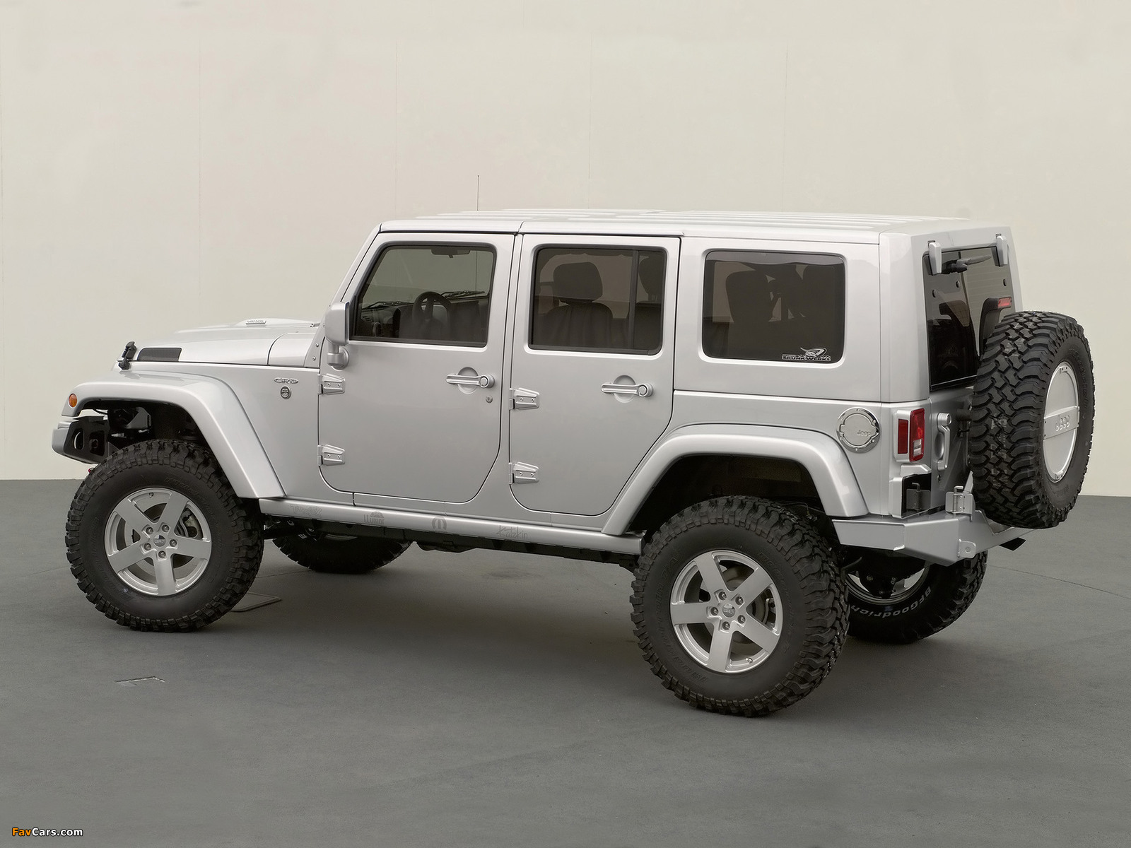 Jeep Wrangler Unlimited Rubicon Concept (JK) 2006 wallpapers (1600 x 1200)