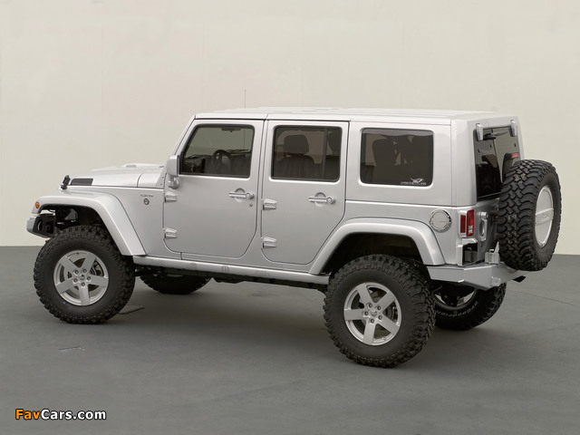 Jeep Wrangler Unlimited Rubicon Concept (JK) 2006 wallpapers (640 x 480)