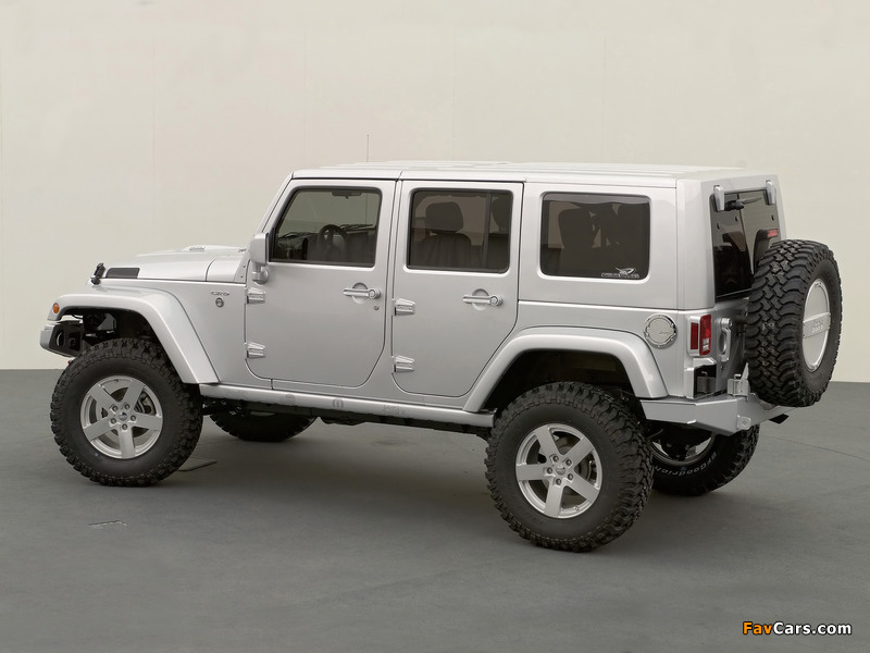 Jeep Wrangler Unlimited Rubicon Concept (JK) 2006 wallpapers (800 x 600)