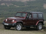 Jeep Wrangler Unlimited Sahara UK-spec (JK) 2007–11 images