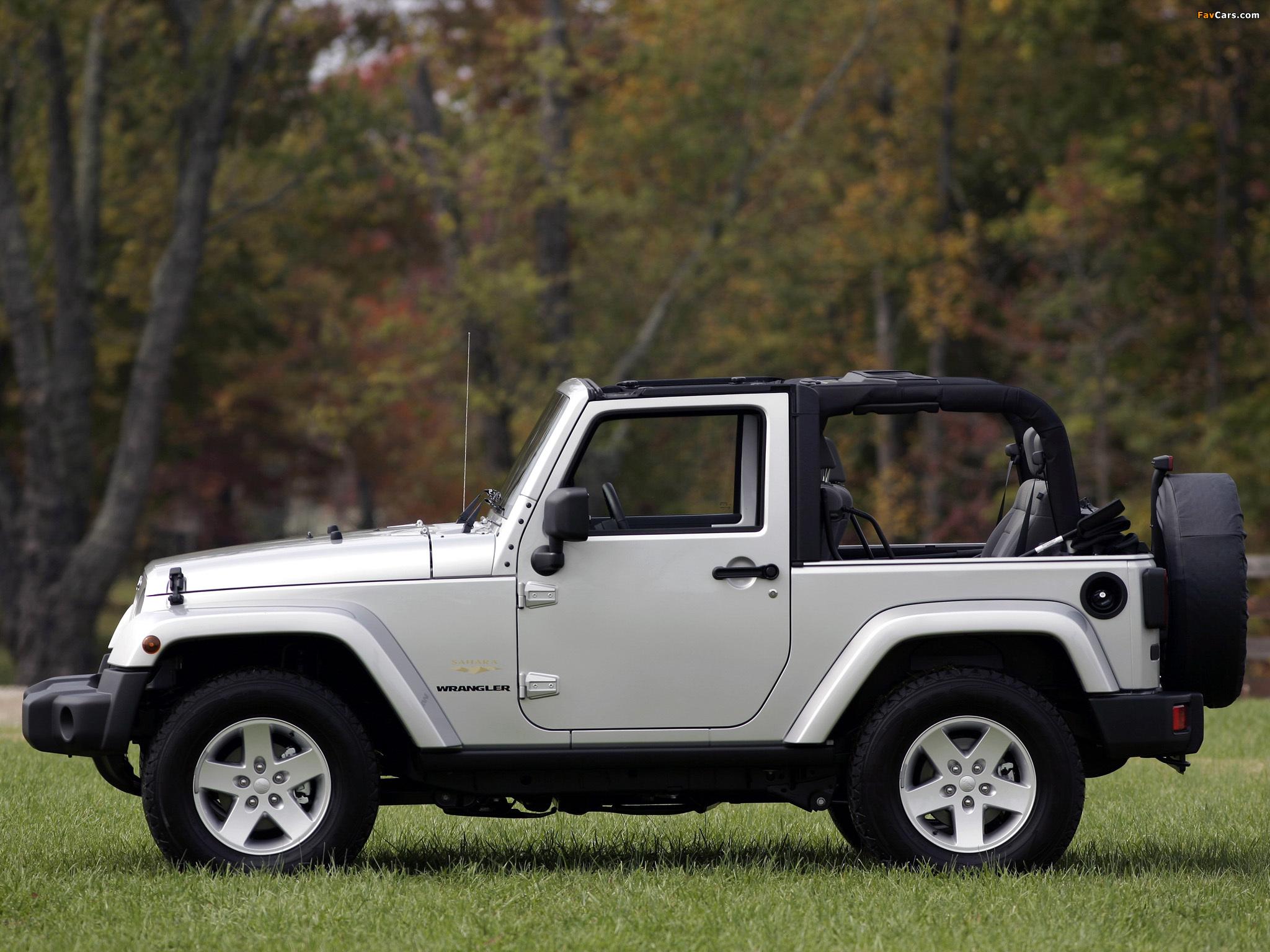 Jeep Wrangler Sahara (JK) 2007 images (2048 x 1536)