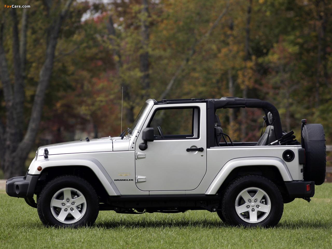 Jeep Wrangler Sahara (JK) 2007 images (1280 x 960)
