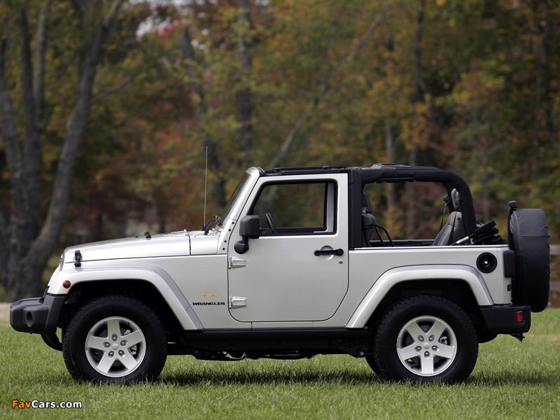 Jeep Wrangler Sahara (JK) 2007 images (800 x 600)