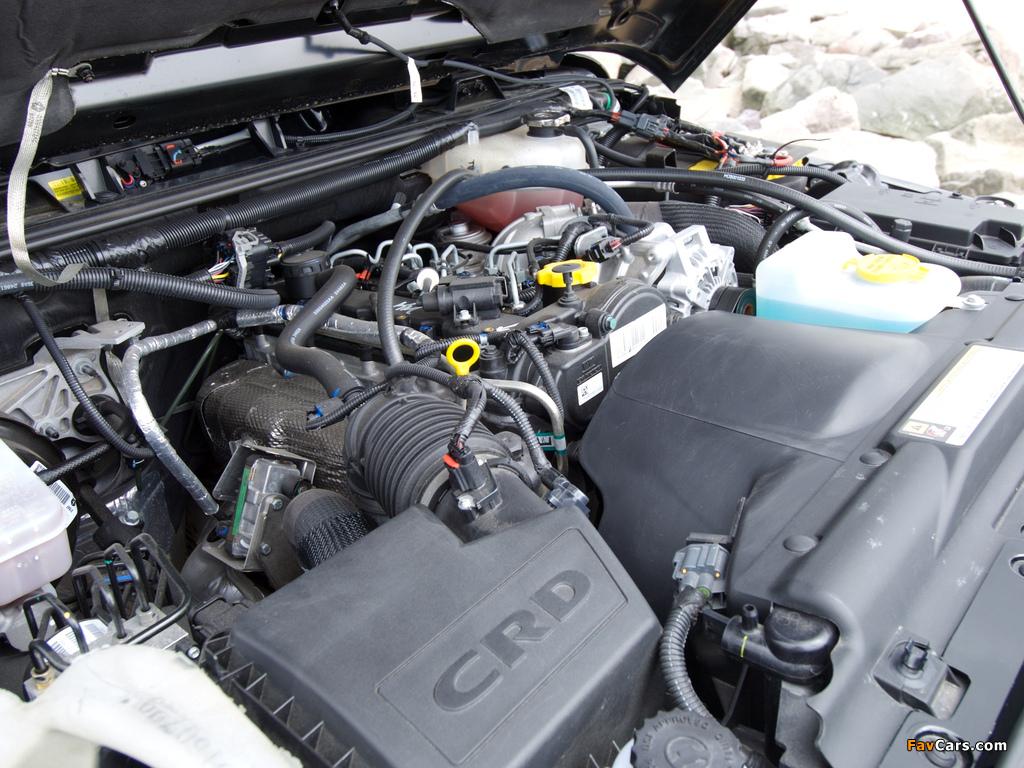 Jeep Wrangler Sport UK-spec (JK) 2007 images (1024 x 768)
