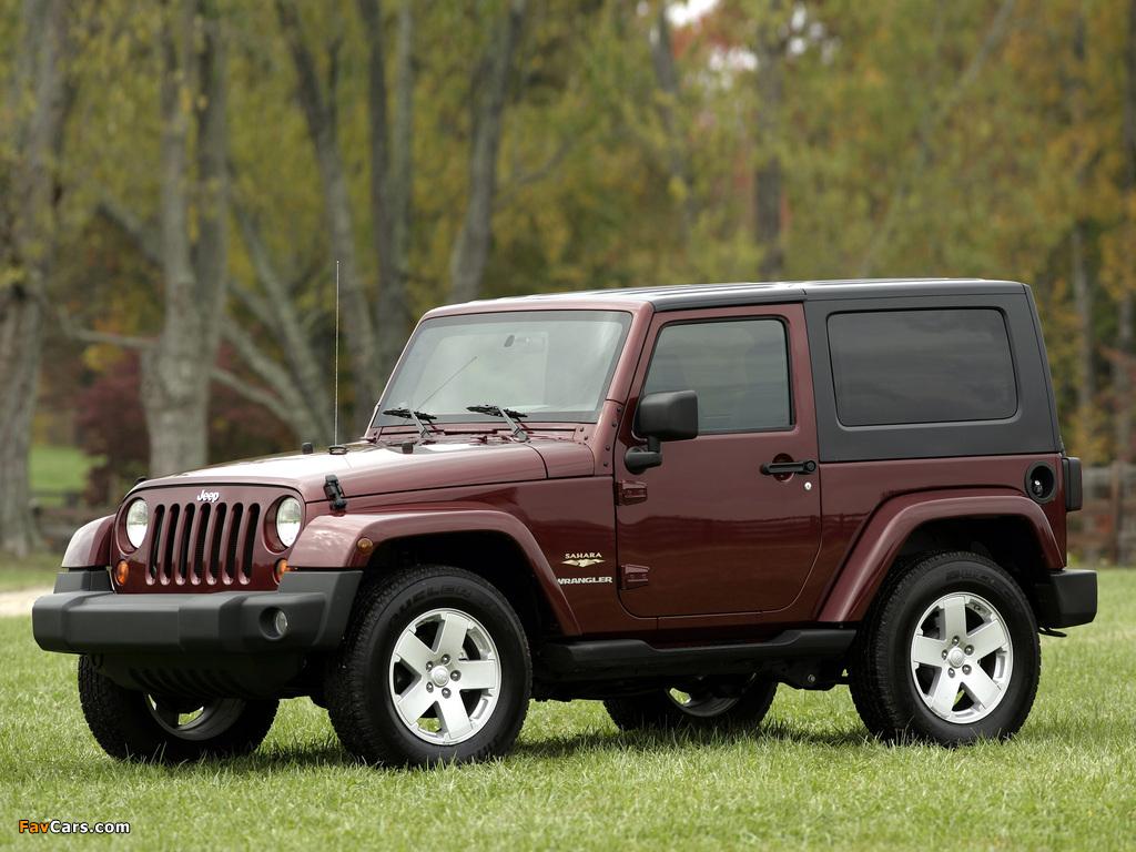 Jeep Wrangler Sahara (JK) 2007 images (1024 x 768)