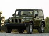 Jeep Wrangler Sahara (JK) 2007 images