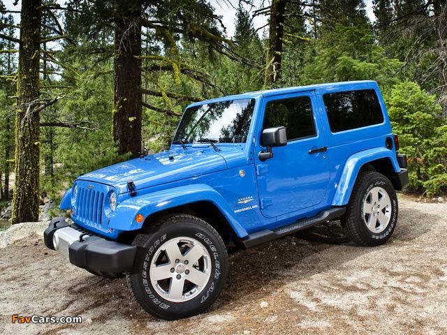 Jeep Wrangler Sahara (JK) 2007 images (640 x 480)