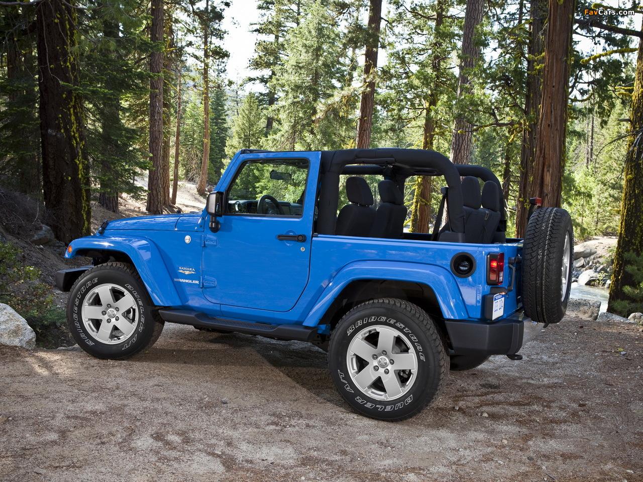 Jeep Wrangler Sahara (JK) 2007 photos (1280 x 960)