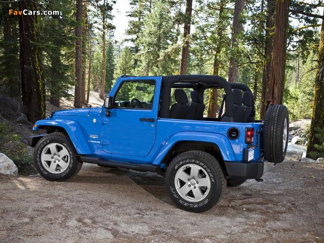Jeep Wrangler Sahara (JK) 2007 photos (640 x 480)