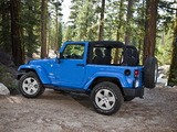 Jeep Wrangler Sahara (JK) 2007 photos