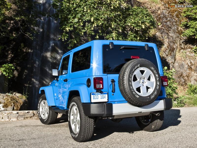 Jeep Wrangler Sahara (JK) 2007 photos (800 x 600)