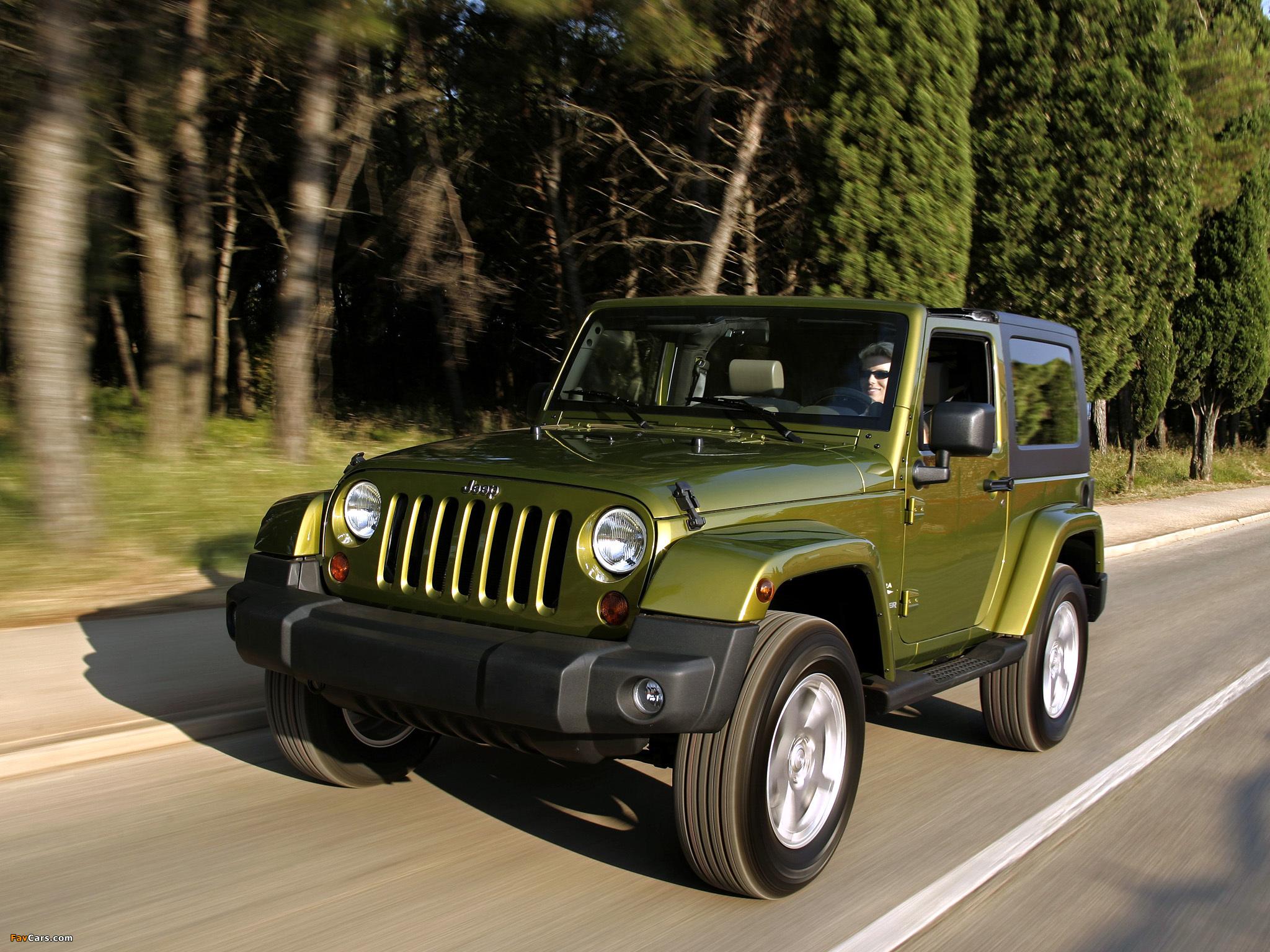 Jeep Wrangler Sahara (JK) 2007 photos (2048 x 1536)
