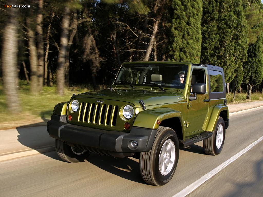 Jeep Wrangler Sahara (JK) 2007 photos (1024 x 768)