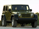Jeep Wrangler Unlimited Rubicon EU-spec (JK) 2007 pictures